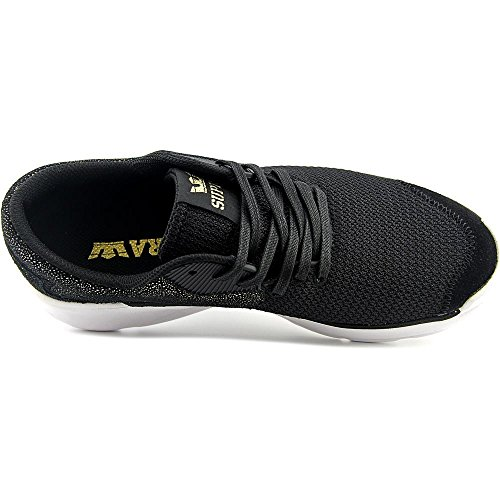 Supra Noiz, Sneaker Unisexe Adulte Black Gold- Blanc