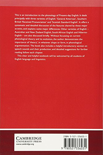 English Phonology Paperback: An Introduction (Cambridge Textbooks in Linguistics)