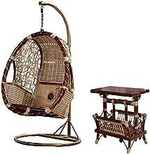 Natural bambú - rota mimbre de hamaca / columpio / silla colgante / trapecio / longue / asiento