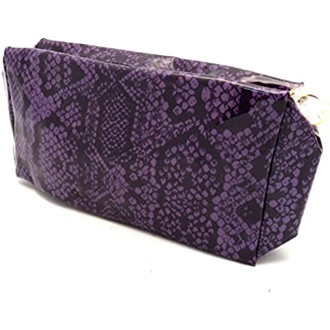 Estee Lauder Purple Makeup and Brush Bag by Estee