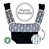 Baby Carrier dentizione Drool Pads: set di 3cotone organico bavaglino Pad strap Covers