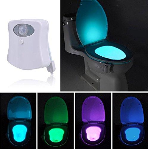 Bewegungs-aktiviertes Toilettenlampe LED UV-Sterilisations-Toiletten Nachtlicht