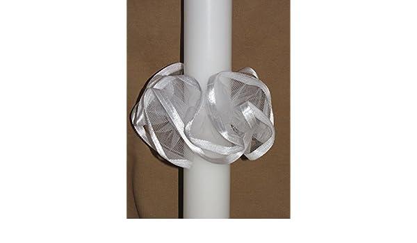 Kommunionkerzen ; 3-5 cm ; S 15 /♥/♥ Kerzenr/öckchen /♥/♥ Kerzenrock f/ür Taufkerzen