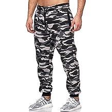 Amazon.es  pantalones camuflaje hombre - Gris 82e769e10ce9