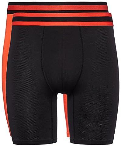 FIND - Sous-Vêtements De Sport Homme - multicolore - Medium, Lot de 2, Lot de 2