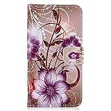 Schutzhülle für iPhone (Brieftaschen-Design, hochwertiges transparentes Design, PU-Leder TPU, stoßfest, Kartenfächer, Magnetverschluss, Standfunktion, Klappetui, für iPhone iPhone 6S plus color 11