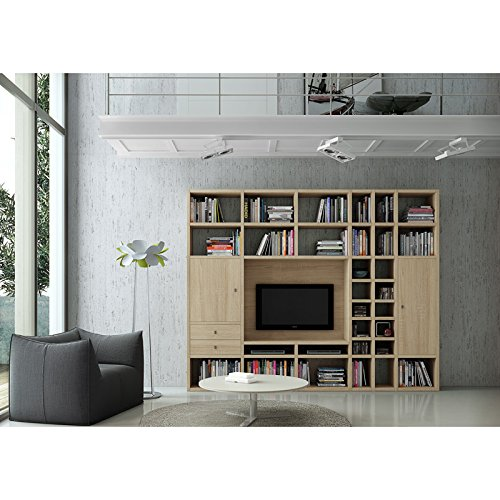 Wohnwand TV-Kombination TOLEO238 Eiche Sonoma - 4