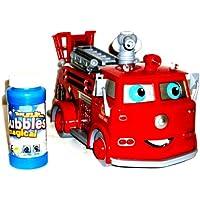 Huang Bubble Fire Engine Bubble Car Truck Cars Bubble Machine