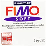 Fimo Soft Polymer Clay 2 Ounces-8020-0 W...