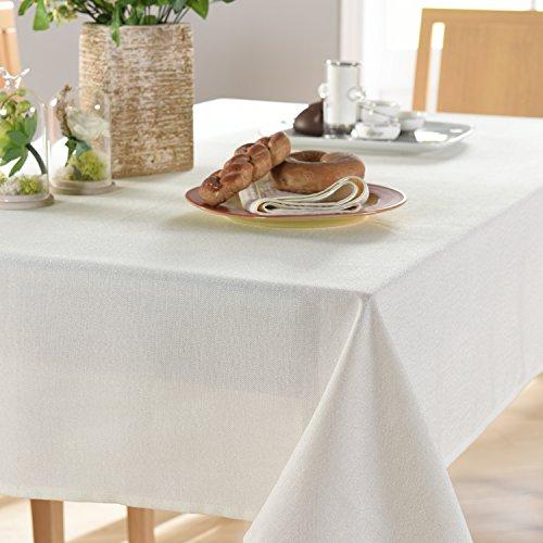 WFLJL Nappe Style européen des couleurs pures des tissus de coton serviettes de toilette petit frais Table Basse rectangulaire Blanc 120*160cm