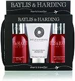 Baylis and Harding Mens Men's Black Pepper and Ginseng Travel Set