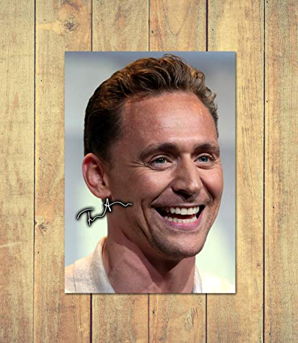 Tom Hiddleston - Loki 4 - High Gloss Printed Poster - A4 (210 x 297 mm) Personalised