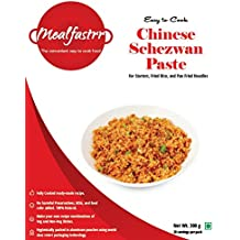 Mealfastrr Chinese Schezwan Paste Ready to Cook and Eat Food Meal for Chicken or Prawns Schezwan Drums of Heven or Veg Crispy Dry Starter Preparations, 300 gm