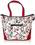 """4YOU, Borsa sportiva/shopper """"Igrec"""", Multicolore (Typography), 30 cm"""