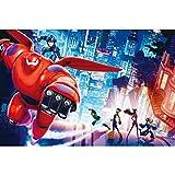 Excellent Big Hero 6 Baymax Locandina cinematografica Jigsaw Puzzle Movie Stills Animazione Cartoon Pittura Perfect Cut & Fit 300~1000pc Boxed del Gioco dei Giocattoli for Adulti e Bambini 1219