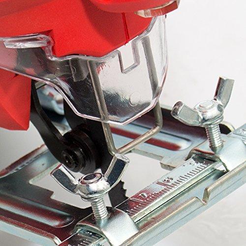 800 Watt Stichsäge Laser Pendulhub Hubzahlregler T-Schaft - 8