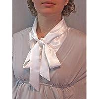 Frauen Kragen Abnehmbare Hälfte Shirt Bluse