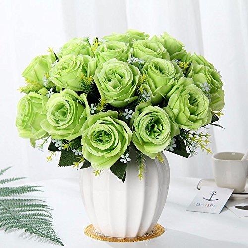 Emulation Blume Suite Wohnzimmer mit künstlichen Blumen geschmückt Sway im Kunststoff getrocknete Blumentopf flower Esstisch mit der c