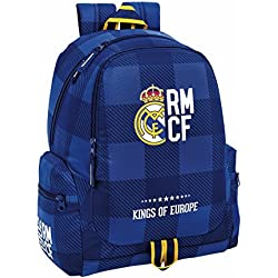 "Real Madrid ""Blue"" Mochila grande adaptable a carro"