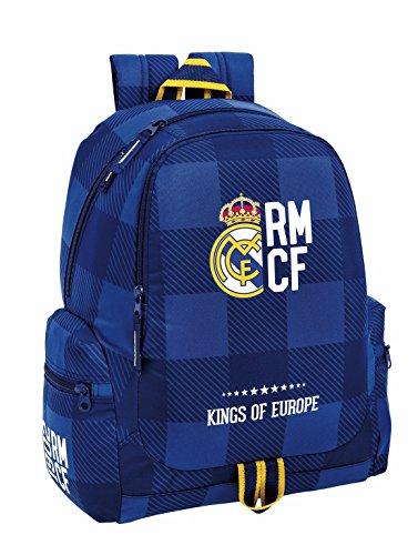"Real Madrid ""Blue"" Mochila grande adaptable a carro"