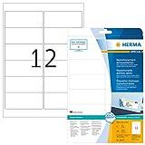 Herma 10017 Étiquettes movables/amovibles 99,1 x 42,3 A4 300 pièces Blanc