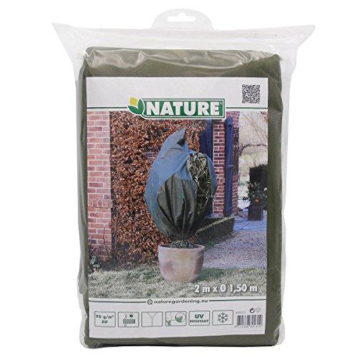 Nature housse de gelée végétale en toison verte 1,5x2 m 6030131