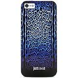 Puro Just Cavalli - Funda para Apple iPhone 5/5s, color azul