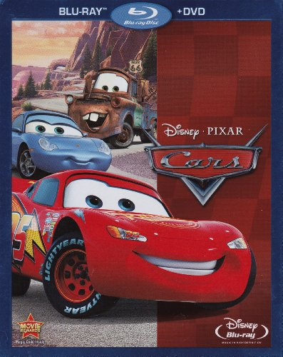Cars with Bonus Disc (Features Air Mater, Time Travel Mater & Three Shorty Shorts) (Air Blu-ray)