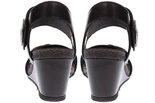 Ca Shott 8026 - Damen Schuhe Sandale Keilsandalette Schwarz