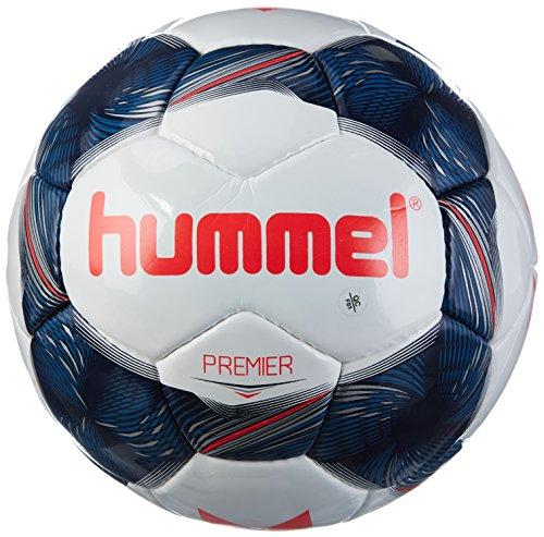 Hummel Niños Premier Fb Fútbol, White/Vintage Indigo/Red, 4