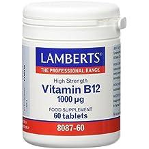 Lamberts Vitamina B12 1000ug - 60 Tabletas