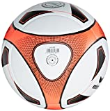 erima Ball Hybrid Match, weiß/neon orange, 5, 719509 - 2