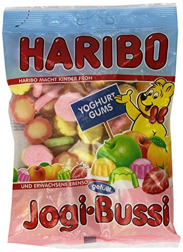 Haribo Jogi-Bussi, Gummibärchen, Tüte, 200 g