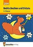 Rechtschreiben und Diktate 4. Klasse (Deutsch: Rechtschreiben und Diktate, Band 254) - Ines Bülow