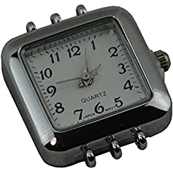 Watch Face Square with Multi Strand Catches - (353b-040)