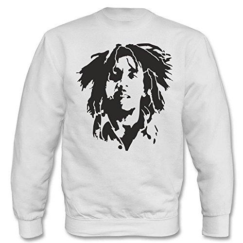 Pullover - Bob Marley Weiß