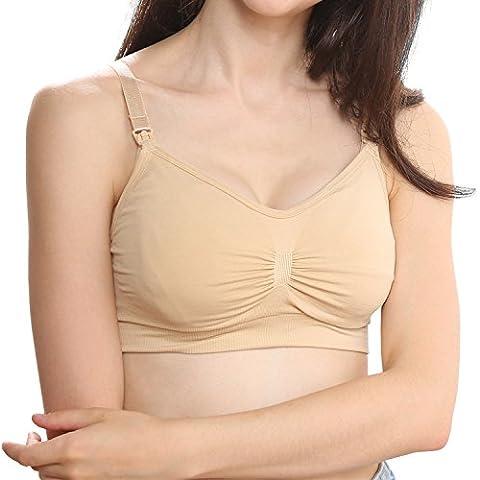 FENTI - Sujetador premamá y de lactancia - Sin mangas - para mujer