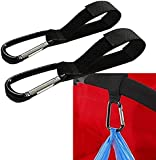 Rheme Buggy Clip Pram Pushchair Stroller Hook Shopping Bag TWIN Clip (2 in a pack)