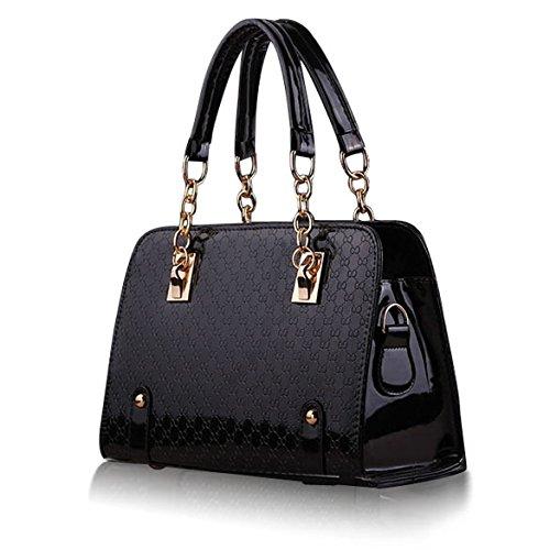 Tomtopp Women Handbag Shoulder Bags Tote Purse PU Leather Ladies Messenger Hobo Bag
