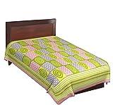 Jaipuri Multicolor Check Design Printed ...