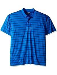 Callaway Men's Big & Tall Golf Performance Stripe Short Sleeve Polo Shirt