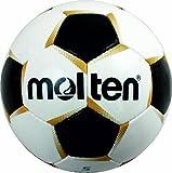 MOLTEN PF-540 - Balón de fútbol, color blanco/dorado/negro, talla 5