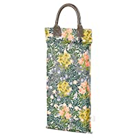 V&A Morris Garden Kneeler with Floral Pattern - Green by Wild and Wolf