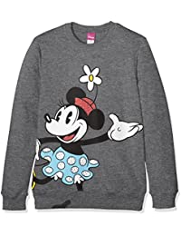 Disney Felpa Ragazza - Sweatshit à Capuche - Fille