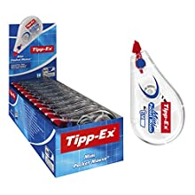 Tipp-Ex Mini Pocket Mouse Plastic Tape - Box of 10 - High-Quality, 6 m, Tear-Resistant Tapes with Smooth Glide