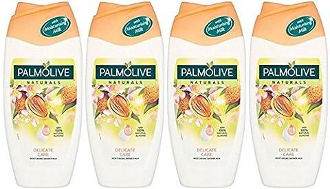 x4 Palmolive Sensitive Almond Shower Milk