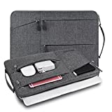 "WIWU Borsa per laptop Custodia per laptop resistente agli urti 13,3 pollici Premium resistente all'acqua con manico per MacBook Pro 13 pollici 2016 Retina, Macbook Air 13.3 "", Laptop per laptop 2017 e 13-13.3"" Borsa per notebook Chromebook di grandi dimensioni - Grigio"