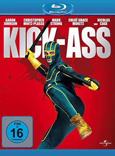 Kick-Ass [Blu-ray] (Hit Girl Comic Kostüm)