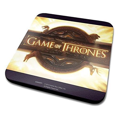 Game Of Thrones Logotipo de apertura Posavasos