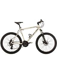 "KS Cycling Gtz VTT semi rigide Blanc 26"""